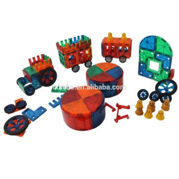Magnetic Tiles Clear Colors 48 pc DX set Toy