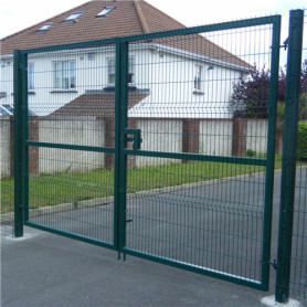 Salutan serbuk salutan Welded Wire Double Gate Gate
