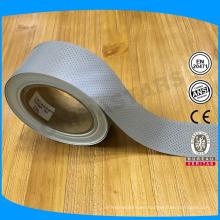 Buena calidad efecto reflexivo alto coser en cinta reflectante perforada