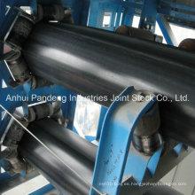 Cinta transportadora del tubo de goma del cordón de acero / correa transportadora / cintas transportadoras