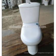 Toilette à deux pièces Washdown bon marché en grand stock