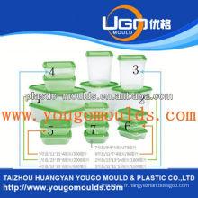 Zhejiang taizhou moule en plastique pour contenants alimentaires