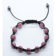 2012 Joya crystal pave ball beads bracelet gifts