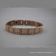 Cheap Stainless Steel Rose Gold Chain Link Bracelet