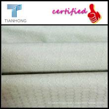 T-shirt do jacquard tecido/32S algodão Dobby com geometria padrão/Piece, tingindo o tecido do forro do Jacquard