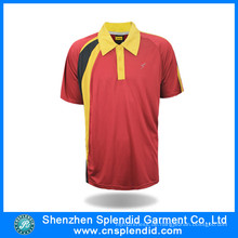 Herren Kurzarm-Design-Sport-Polo-Shirt für den Verkauf