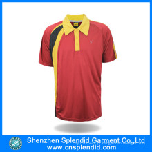 Homens secar Fit Sports Polo Shirt Fabricantes China