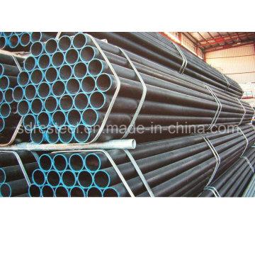 Tubo de acero recocido negro redondo Q195