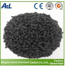 carbón activo (pellet de 4 mm) para agua de rienda limpia