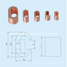Braçadeira de conexão de cobre CCT