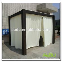 Audu Patio Gazebo,3*3M Patio Gazebo With Curtain