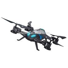 2016 neueste professionelle Fernbedienung Spielzeug L6055 lange Flugzeit RC Auto Drone 2 IN 1 2.4G RC Quadcopter UFO Kit