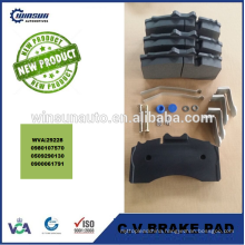 29228 heavy duty truck brake pad,commercial vehicle disc brake pad