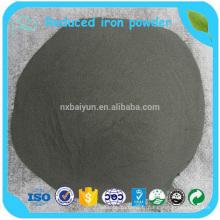 Faible coût de poudre de fer réduit largement utilisé pour couler l'acier