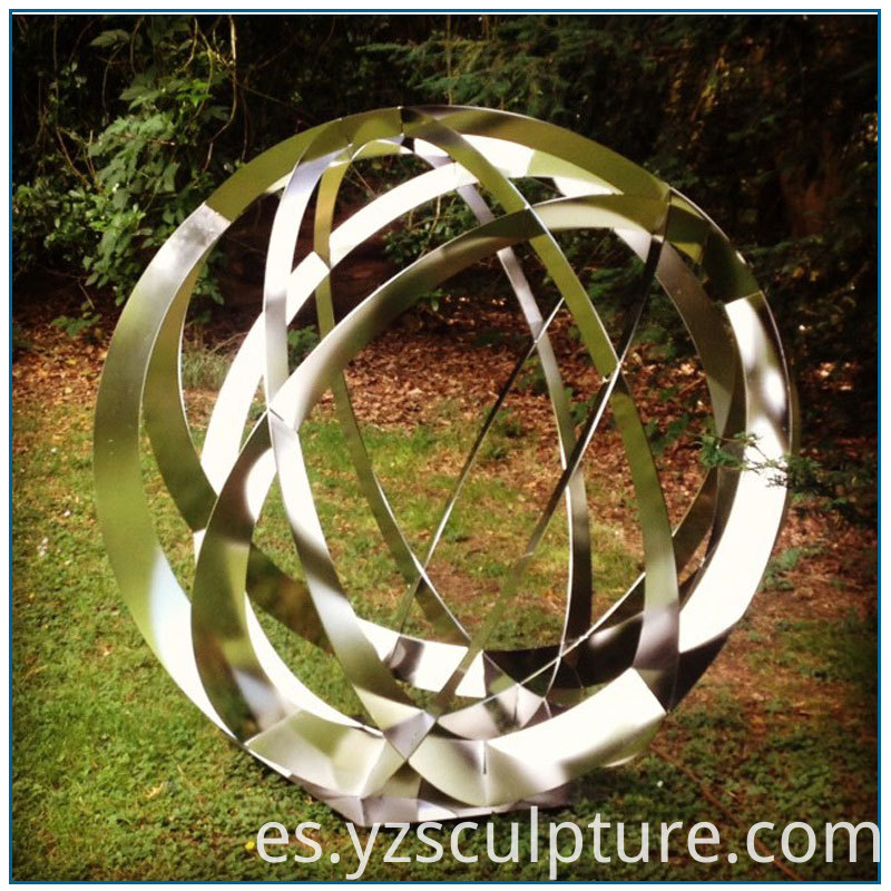 Stainless Steel Sphere Sculpture