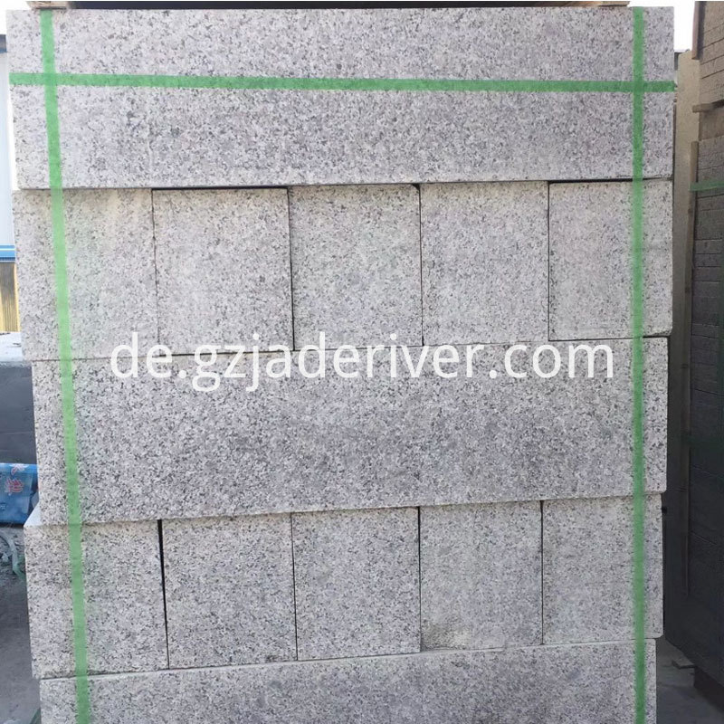 Five Lotus Granite Curb Stone