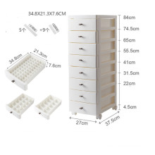 Organizer Stackable plastic cabinets