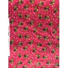 Tissu imprimé en polyester pour ensembles de literie