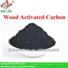 Holz Aktivkohle mit konkurrenzfähigem Preis