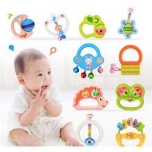 mão sino instrumento musical pandeiro chocalho brinquedos