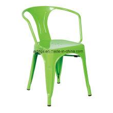 Chaise Tolix bras chaise de fer