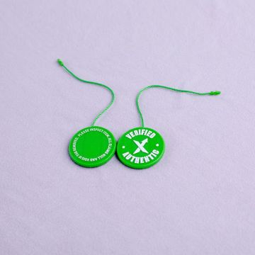 Schönes Design Ribbon Plastic Seal Tags