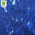 100 Polyester Mesh Pailletten Stickerei Spitzenstoff