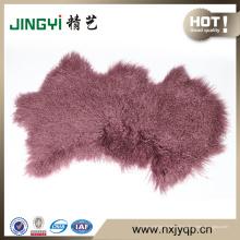 Gros Long Hait bouclés mongole peau de fourrure d'agneau