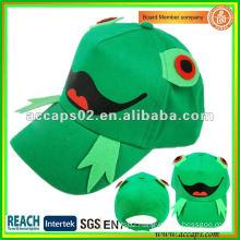 Frog pattern children baseball cap BC-c0008