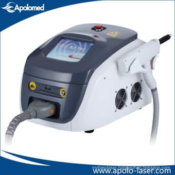 1064 Nm / 532nm Tattoo Removal Varicose Veins Q Switched ND YAG Laser