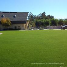 SGS certificó material de PPE Material paisaje césped césped artificial verde para la decoración del hogar