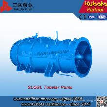 Bomba de água de fluxo cruzado submersível tipo Slqgl