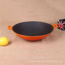 Wok esmaltado de gran tamaño del producto caliente de la venta