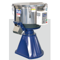Plastic vertical color mixer