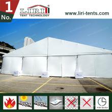 Tente 15X40m pour 500 personnes au Botswana avec décoration