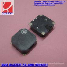 8,5 * 3,3 mm 85dB Buzzer magnético SMD pequeno