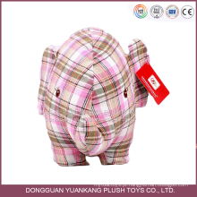 ISO9001 OEM personalizado feito elefante animal atacado de pelúcia brinquedo de pelúcia