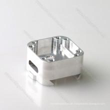 Aluminium 6061 Eloxieren CNC Bearbeitungsteil mit Verlierer Gravur Logo
