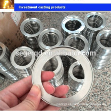 customized investment casting wheel