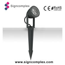 Impermeável IP65 Anti-UV 3W LED Lâmpada Jardim Jardim lâmpada de gramado japonês com CE RoHS