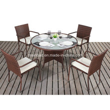 Outdoor Round Dining Set with Steel Frame 1607