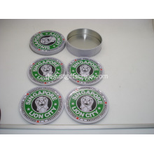 Werbeartikel Custom Tin Coaster Sets - Starbucks