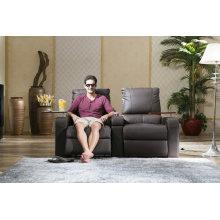 Alta calidad genuino teatro eléctrico de cuero reclinable sofá silla (800)
