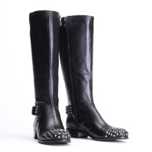New Style of Fashion Women Leather Boots (WZ-11)