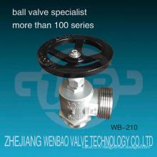 Wb-210 Dn65 Acier inoxydable 304 Hydrant Valve Fire Hydrant Prix fabriqués en Chine