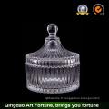 Hot Sale Glass Candle Jar avec couvercle Fournisseur Food Storage