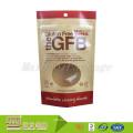 OEM/ODM Plastic Resealable Ziplock Food Kraft Paper Pouch With Window