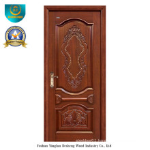 European Style Solid Wood Door for Exterior with Carving (ds-8033)