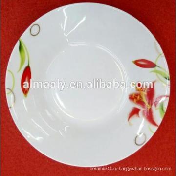 Оптовая фарфоровая тарелка