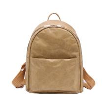 DEQI Eco-friendly Tyvek Fashion Backpack Lightweight School Bag Backpack Travel Laptop Backpack Washable Kraft Paper Outdoor Bag